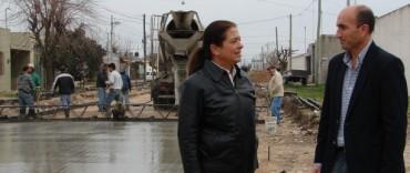 Se inauguran las obras en el Barrio Tiro Federal