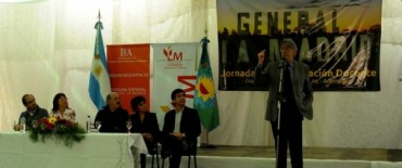La Madrid: Se realizó la 1ra Jornada de Actualización Docente