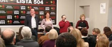 Olavarría: El Frente Renovador reunió a sus fiscales generales