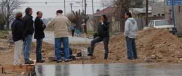 Inauguración de obras en el Barrio Tiro Federal