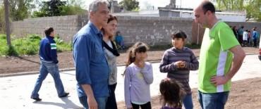 Se inauguraron las obras en el Barrio Tiro Federal
