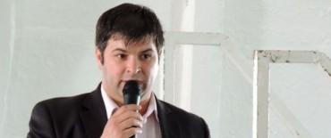 Franco Cominotto participó de una Jornada en Tapalqué en la que se trató la situación hídrica de la región