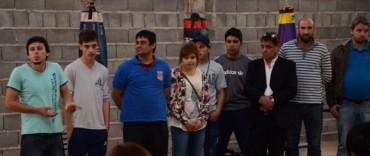 Programa de Inclusión Social: inauguraron una escuela de boxeo para niños y adolescentes