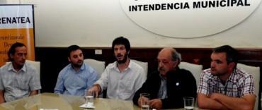 General La Madrid: Firma convenio con RENATEA