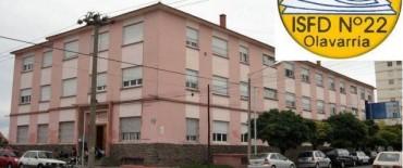 El Instituto de Formación Docente Nº 22 Adolfo Alsina informa su oferta académica