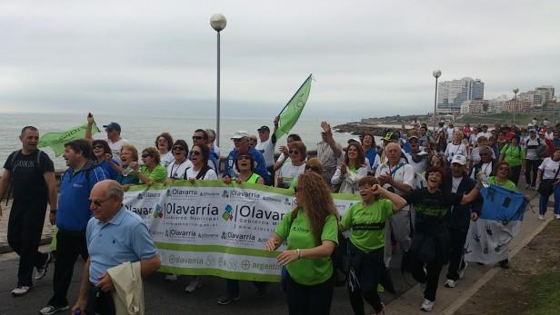 Carolina Szelagowski participó de una Jornada con Abuelos de Olavarría en Mar del Plata