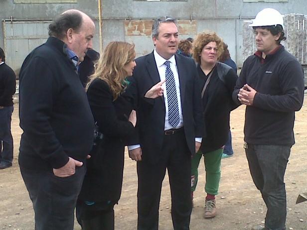 Cerro Largo: para el Ministro de la Producción Bonaerense, los equilibrios social, económico y ambiental, están resguardados