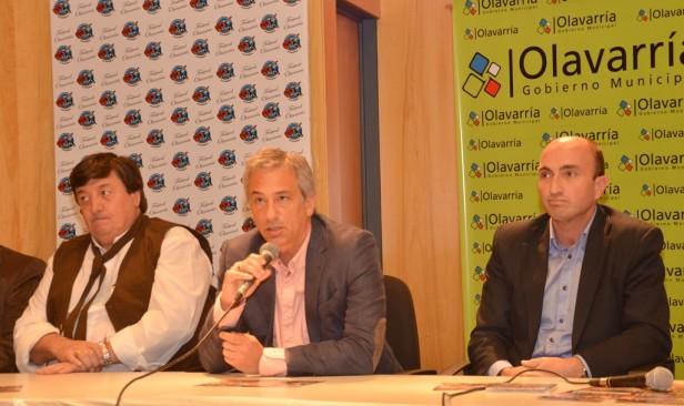Presentaron el 11º Festival de Doma y Folklore Olavarría 2013