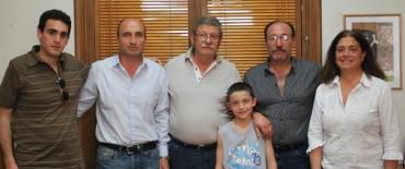 Eduardo Rodríguez realizó la entrega de un subsidio al Club Ferro