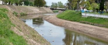 El Gobierno Municipal continúa trabajando en obras para evitar inundaciones