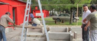 Azul: Bolpe supervisó las obras y trabajos que se están realizando en el Balneario Municipal