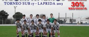 El agua malogró la jornada futbolística en Laprida.-