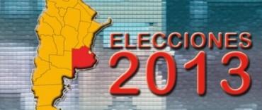 Elecciones 2013: Cantidad de votantes séptima sección electoral y en cada uno de los distritos que la integran