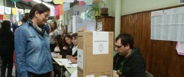 Votaron Margarita Arregui y Julio Frías