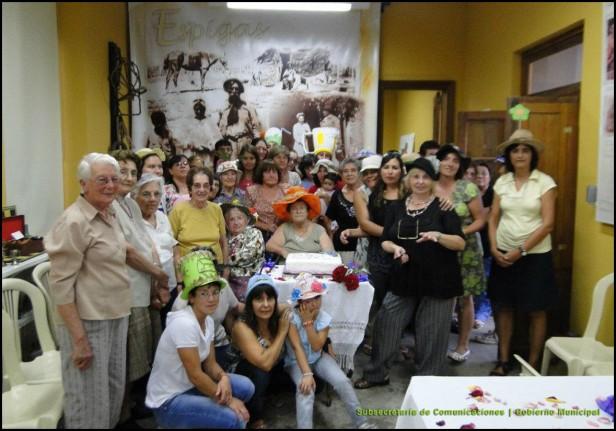 Hubo un encuentro de mujeres en el Museo Municipal de Espigas