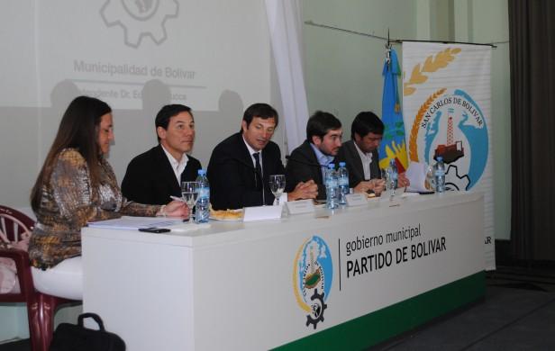 Bolívar: Se realizó en la Municipalidad de Bolívar el encuentro de ARBA con los intendentes de la séptima