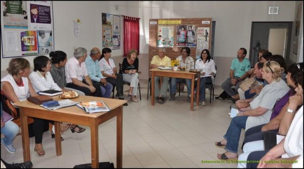 Culminó el primer mes de reuniones en las mesas de gestión territorial