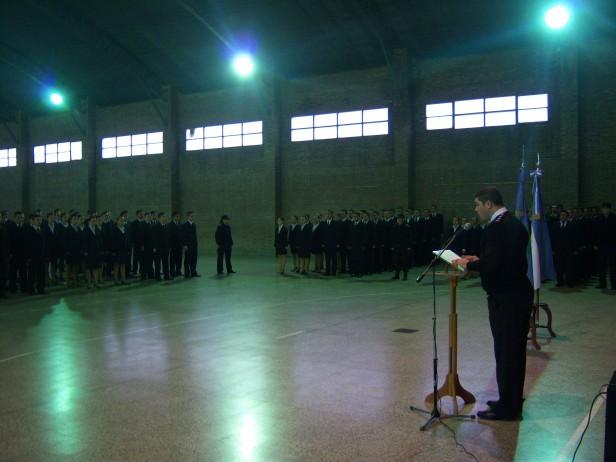 Comenzó el ciclo lectivo 2012 para los futuros oficiales penitenciarios