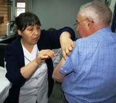 Vacunación antigripal del Pami