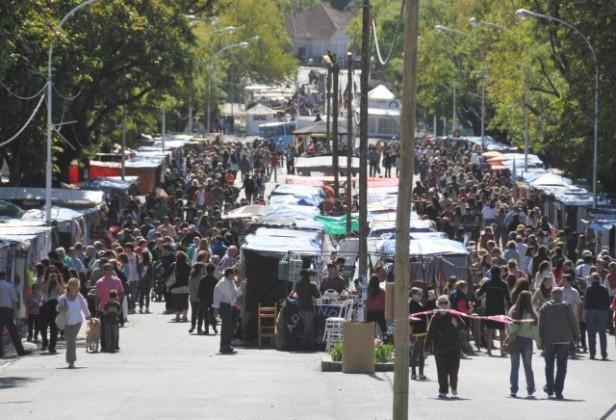 TANDIL  El fin de semana largo de Semana Santa colmó la ciudad de Tandil
