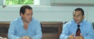 El Jefe Distrital, Ricardo Tévez se reunió con el Jefe de Gabinete y presentó la oficina de Relaciones con la Comunidad