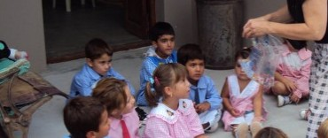 Alumnos del Jardín de Infantes Nº 905 visitaron el Museo Municipal de Espigas