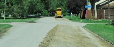 El Gobierno Municipal trabaja en el mantenimiento de calles en el barrio AOMA