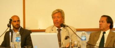 El Dr. Aníbal Bocchio disertó en la Jornada de Derecho Laboral sobre