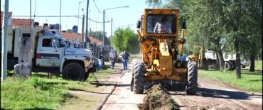 Finalmente comenzó el mantenimiento de calles en el barrio Trabajadores