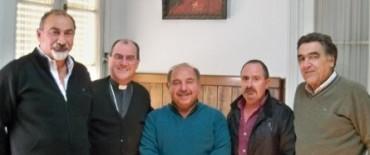 La CGT se reunió con el Obispo de Azul