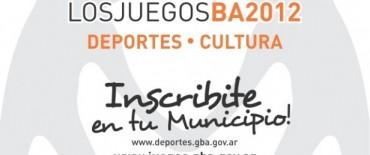 Inscripción para los Juegos BA 2012